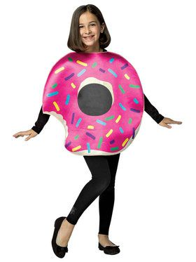Strawberry Donut Child Costume