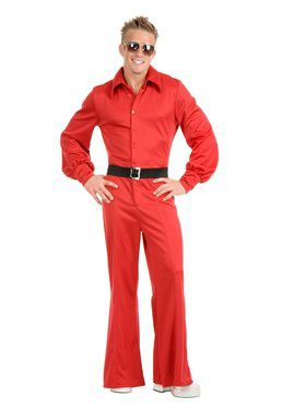 Studio Jumpsuit Adult Red