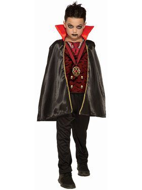 Sublimation - Classic Vampire Boy Child Costume