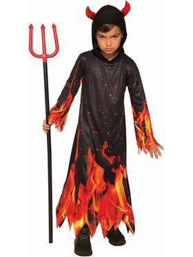 Sublimation - Devil Boy Child Costume