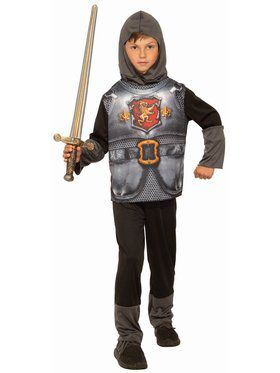 Sublimation - Knight Of Dark Kingdom Child Costume