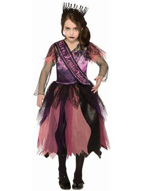 Sublimation - Prom Princess Zombie Child Costume