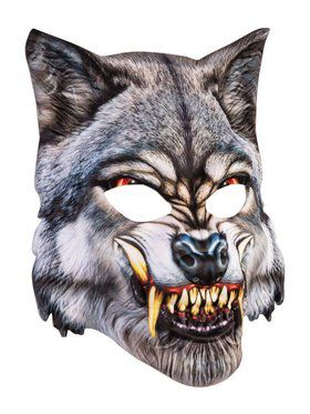 Sublimation Wolf Mask