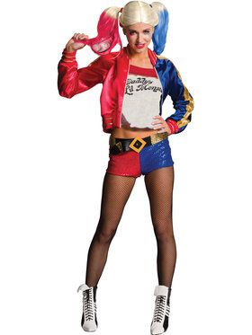 Harley Quinn Suicide Squad Costume for Adults