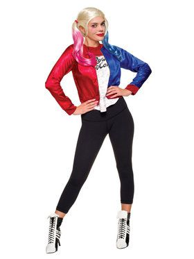 Teen Suicide Squad Harley Quinn Costume