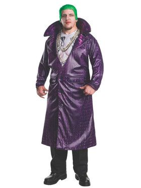 Suicide Squad: Joker Deluxe Adult Costume Plus