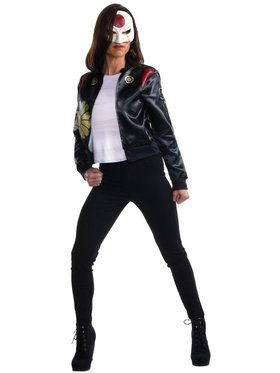 Suicide Squad: Katana Teen Costume Kit