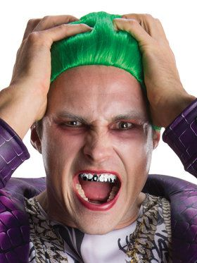Suicide Squad The Joker Teeth Costume Accessory