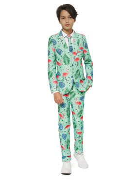 Suitmeister Tropical Boy's Suit and Tie Set