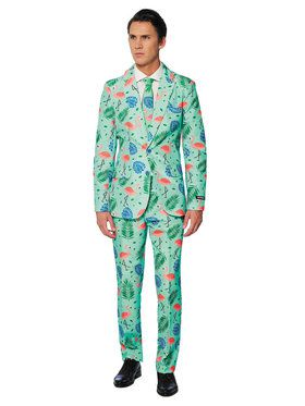 Suitmeister Tropical Men's Suit and Tie Set