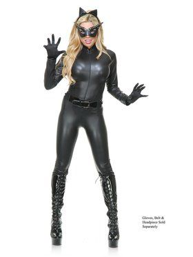Sultry Cat Suit Adult Costume