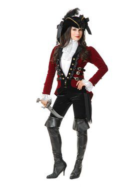 Sultry Pirate Lady Jacket