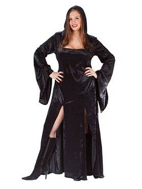 Sultry Sorceress Plus Costume