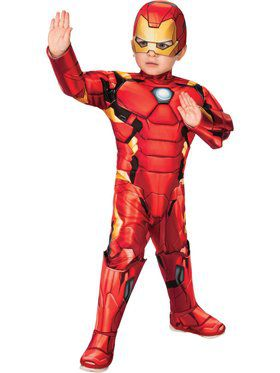 Toddler Deluxe Iron Man Super Hero Adventures Costume