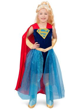 Super Hero Girls Premium Child Supergirl Costume