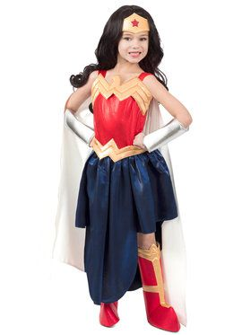 Super Hero Girls Premium Child Wonder Woman Formalwear 4