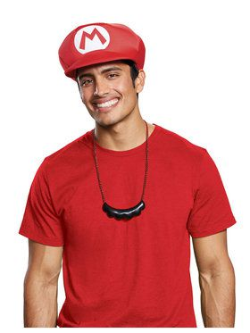 Hat and Moustache Super Mario Bros. Mario Kit