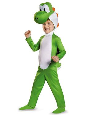 Super Mario Bros: Boys Toddler Yoshi Costume