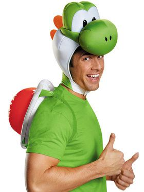 Adult Yoshi Costume Kit - Super Mario Bros