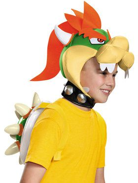 Super Mario Bros: Bowser Accessory Kit For Children
