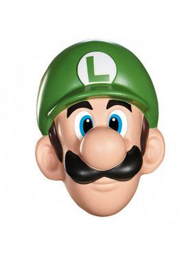 Super Mario Brothers - Luigi Adult Mask