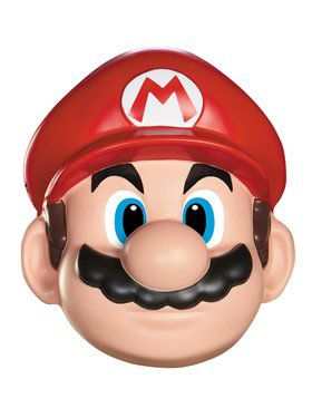 Super Mario Brothers - Mario Mask One-Size