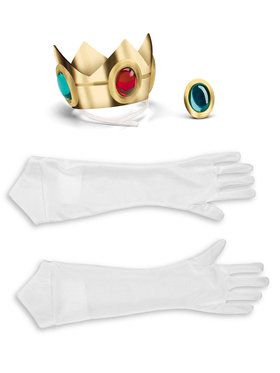 Nintendo Princess Peach Costume Kit - Super Mario Bros