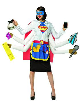 Super Mom Adult Costume