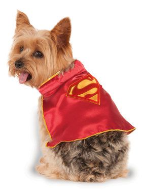 Supergirl Cape Pet Costume