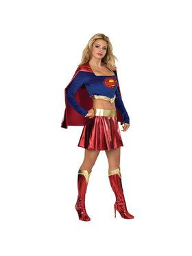 Deluxe Adult Supergirl Costume
