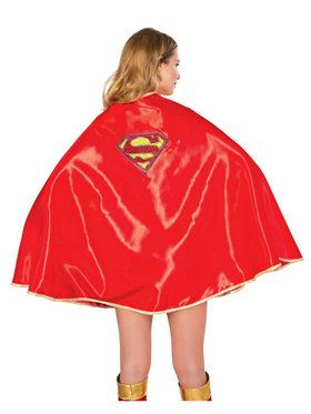 Supergirl Dlx Cape