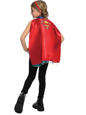 Supergirl Headband and Cape Set