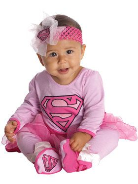 Supergirl Infant Onesie Costume