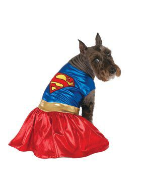 DC Supergirl Pet Costume