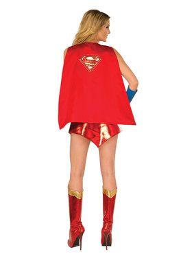 Supergirl Satin Lined Cape