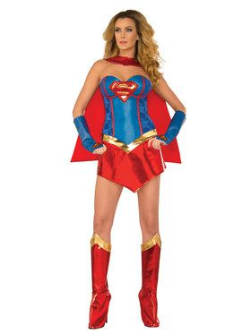Supreme Supergirl Women's Costume