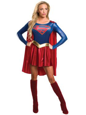 Supergirl TV Costume for Adults