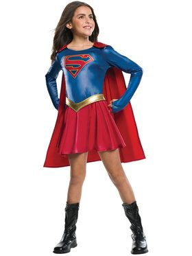Girl's Supergirl TV Show Costume
