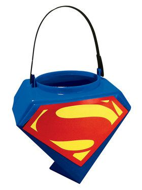 Superman Man of Steel Trick or Treat Pail