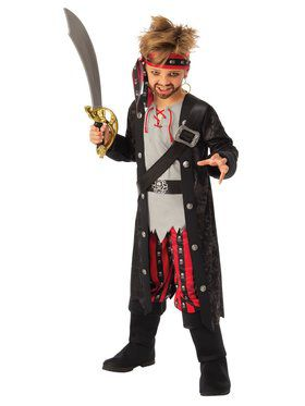 Swashbuckling Boy Child Costume