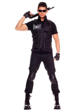 SWAT Brigade Commander Costume