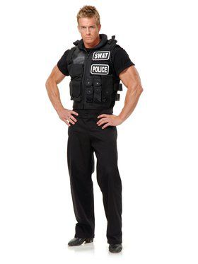 Swat Team Vest Adult Costume