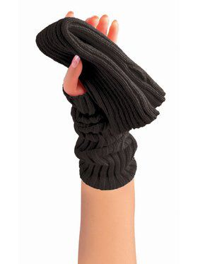 Sweater Arm Warmer - Black -