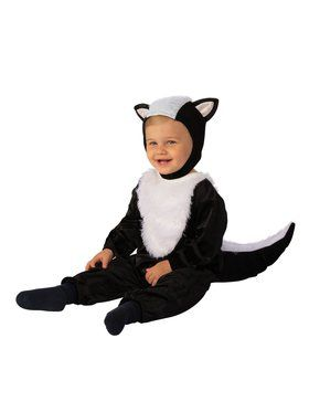 Sweet Little Skunk Child Costume