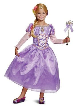 Tangled Rapunzel Deluxe Child Costume