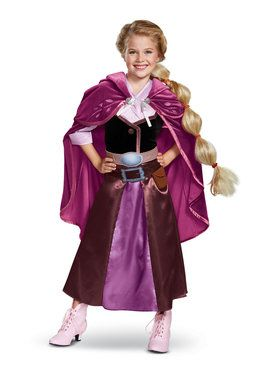 Tangled the Series Season 2 Rapunzel Deluxe Travel Outfit Toddler Costume