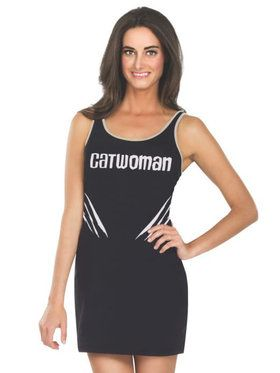 Tank Dress Adult Catwoman Costume