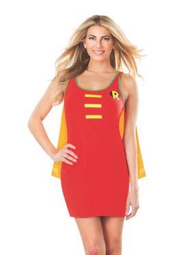 Tank Dress Women's Robin Costume