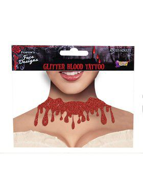 Tattoo Choker - Bloody