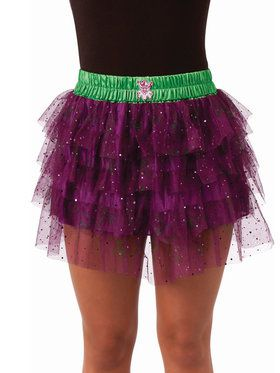 Teen Joker Skirt with Sequins